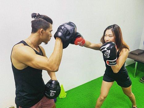 J.C.國際健身工作室受到健身愛好者的青睞。 J.C.國際健身工作室/提供