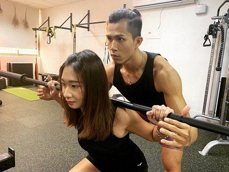 具備專業證照的教練針對學員量身課程編排。 J.C.國際健身工作室/提供