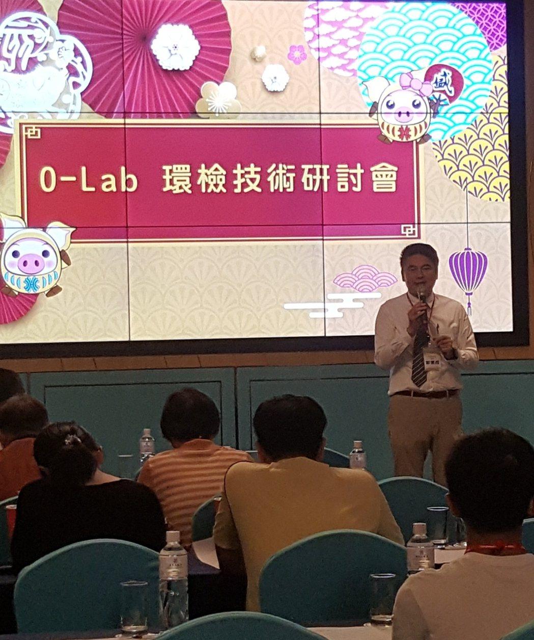 高雄市儀器公會理事長郭鵬成表示,O-Lab聯盟可以說是南部儀器界的創舉。 許夷雯...