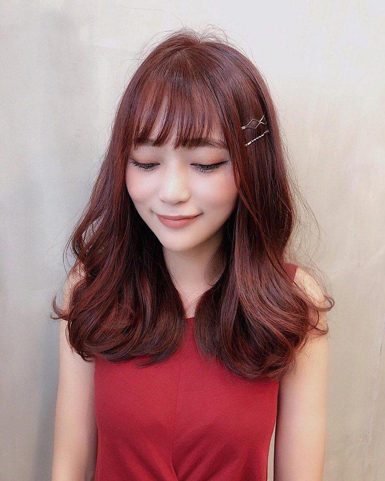 髮型創作/B.O.M hair design / Mina Wang。圖/Sty...