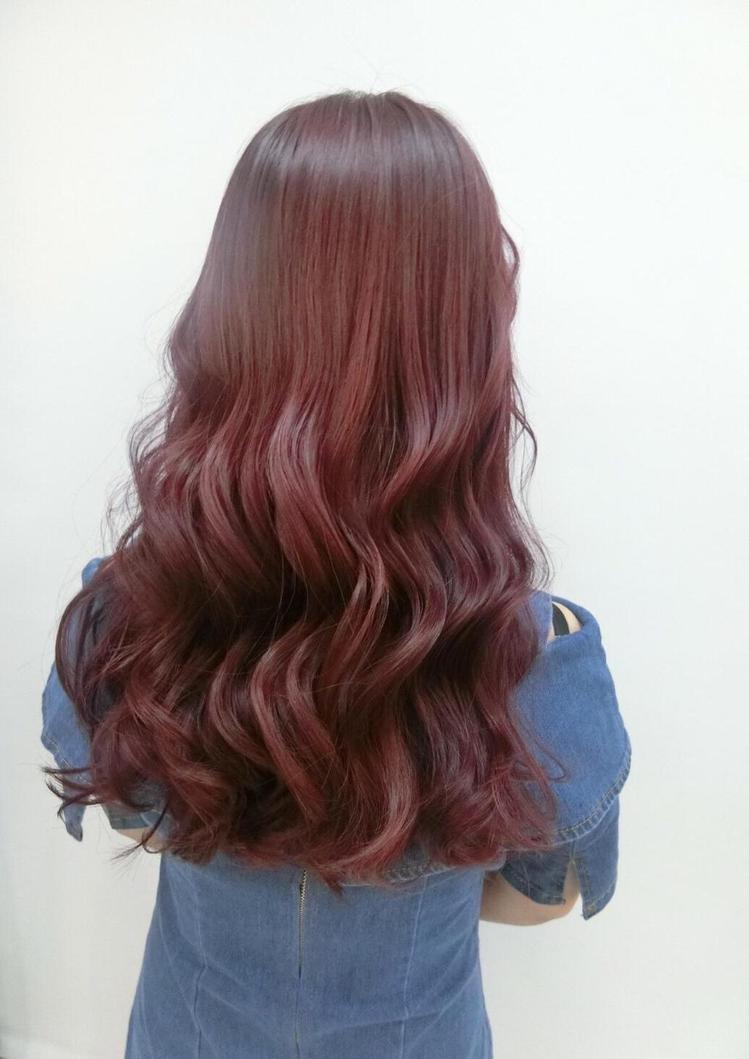 髮型創作/尚洋髮藝 基隆店 / 露比 Ruby。圖/StyleMap美配提供