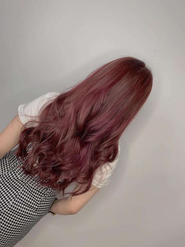 髮型創作/ FIN HAIR SALON一館 / Betty。圖/StyleMa...