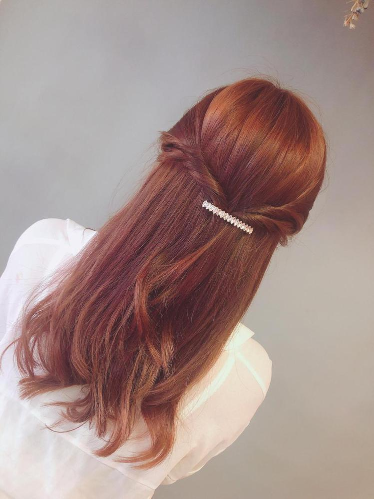 髮型創作/Je上越髮型 府中店 / Iris艾瑞絲。圖/StyleMap美配提供