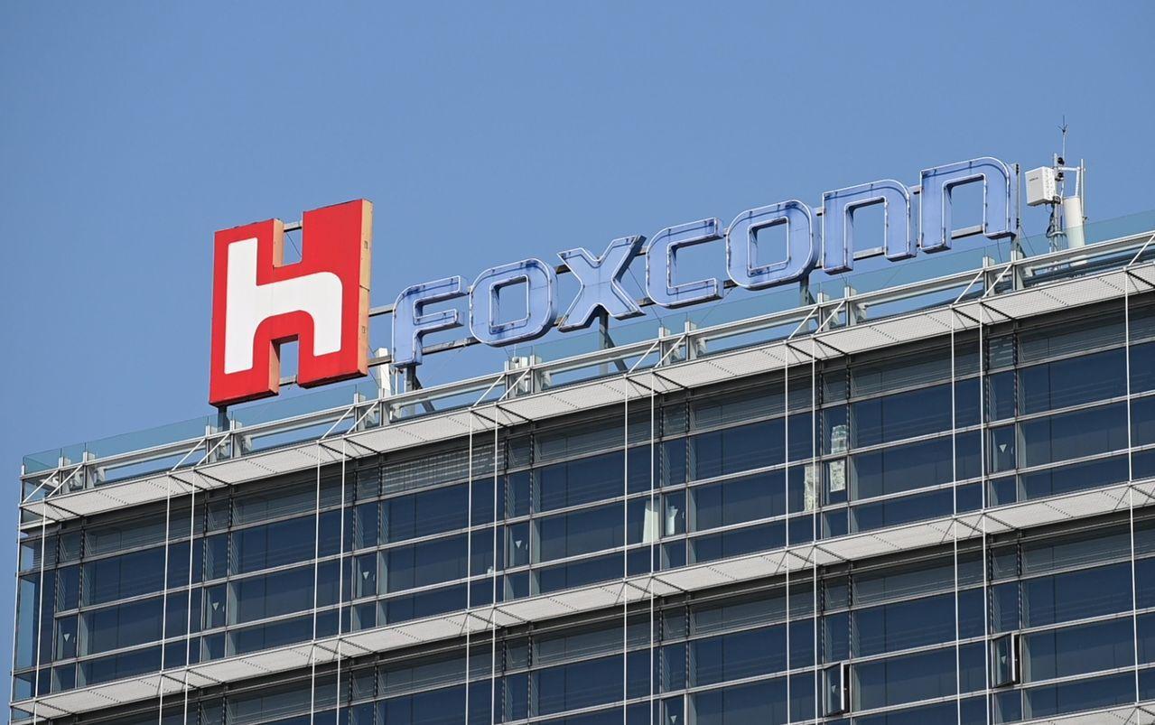 富士康傳出正在研究是否出售在中國投資的88億美元顯示器工廠。法新社