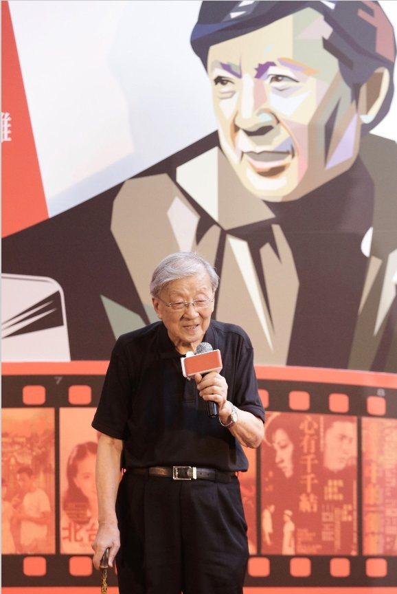 李行展出拍攝電影多年所珍藏的相關文物。記者許正宏/攝影