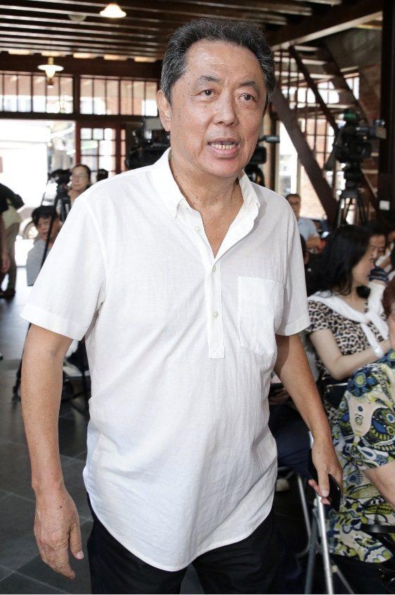 朱延平認為今年金馬獎會是台灣電影的大年。記者許正宏/攝影