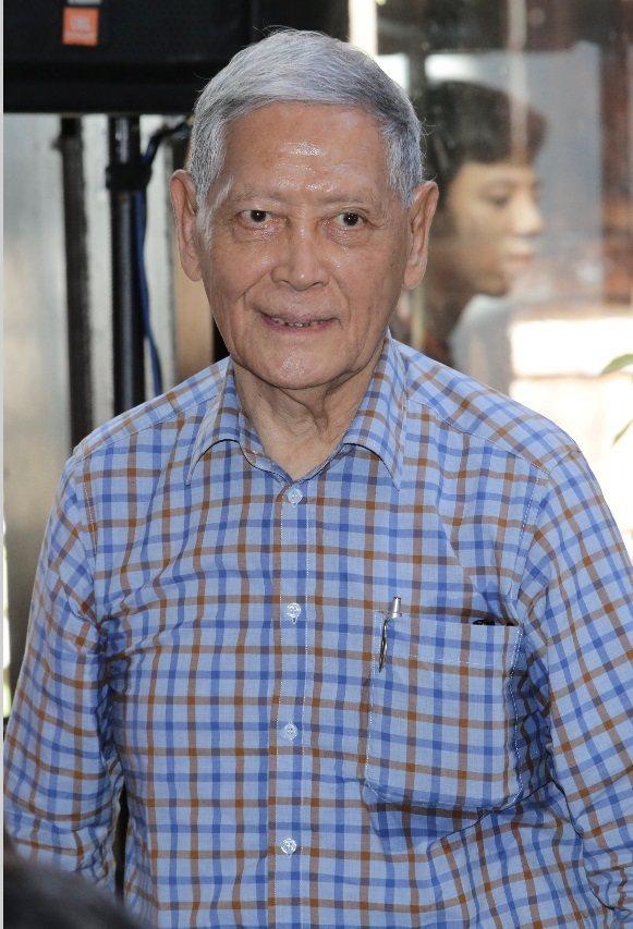 石雋擔任李行電影文物展的嘉賓。記者許正宏/攝影
