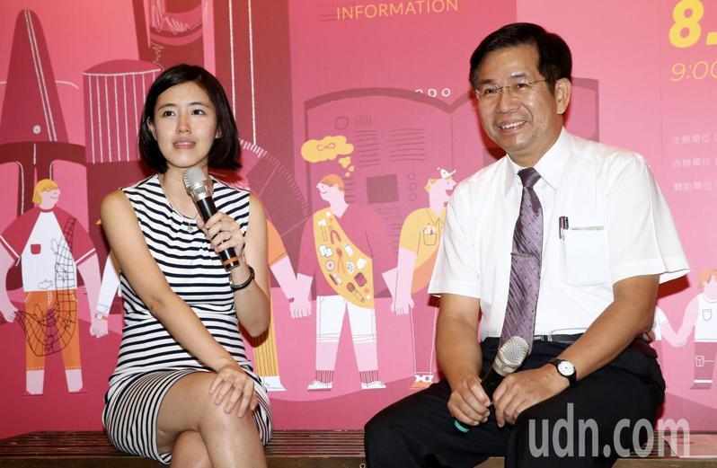 為台灣而教舉辦五周年展,創辦人劉安婷邀教育部長潘文忠對談,主題為「關於新人才」。本報系資料照片