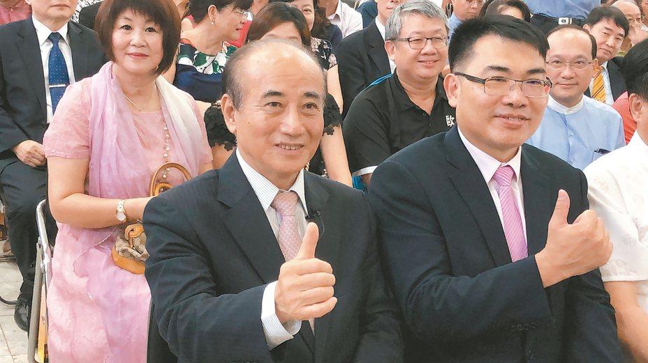 立法院前院長王金平(見圖)拒絕出任韓國瑜副手,韓昨天說,仍會以「誠心、耐心、信心」推動整合。 記者邵心杰/攝影