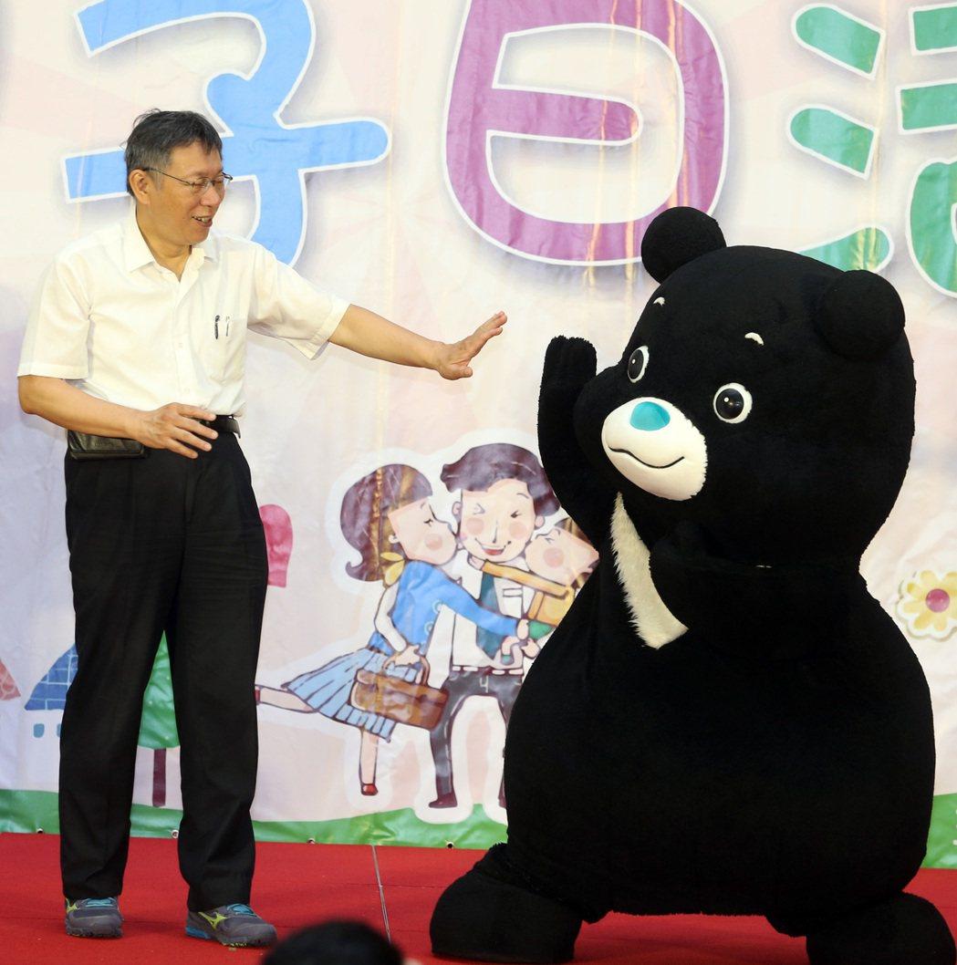 台北市長柯文哲籌組「台灣民眾黨」,為政壇投下震撼彈。 記者曾吉松/攝影