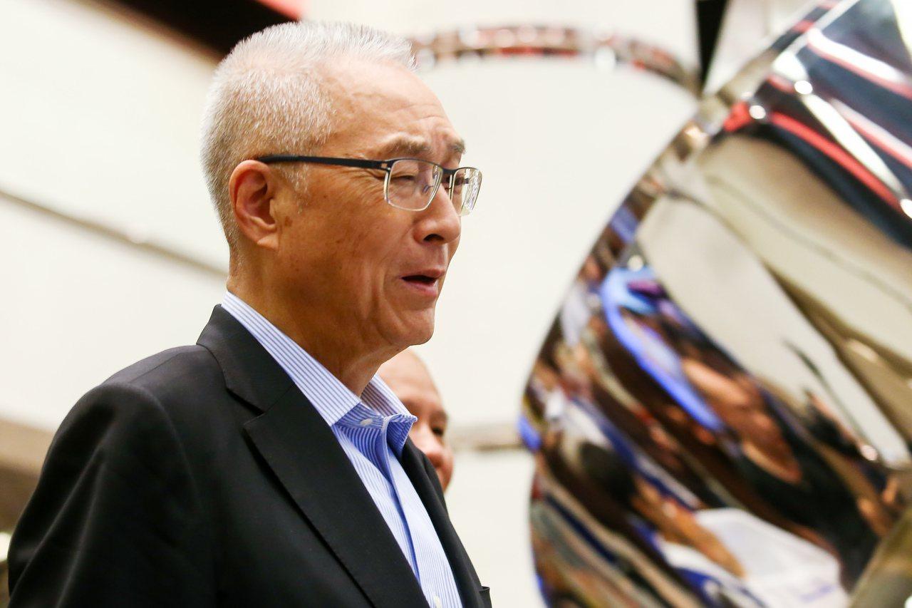 國民黨主席吳敦義在臉書發文表示,為了國民黨能夠重返執政,即使赴湯蹈火,也無怨無悔...