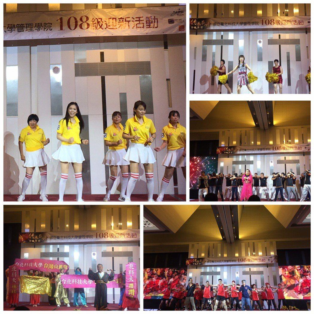 迎新重頭戲-108級各班表演競賽。 吳佳汾/攝影