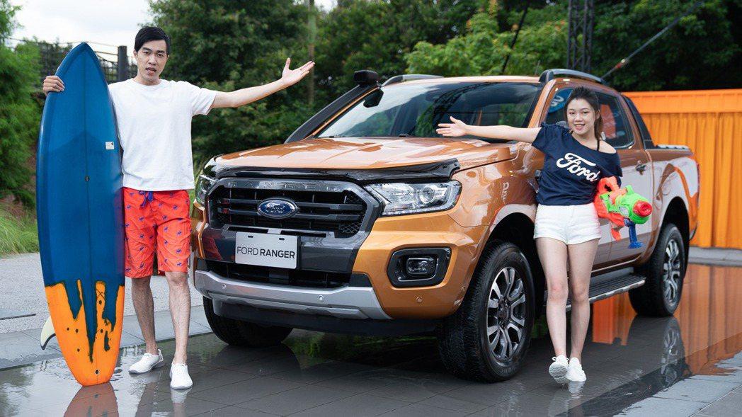 Ford Ranger連續五年蟬聯運動休旅皮卡銷售冠軍,現在升級再導入Ford ...