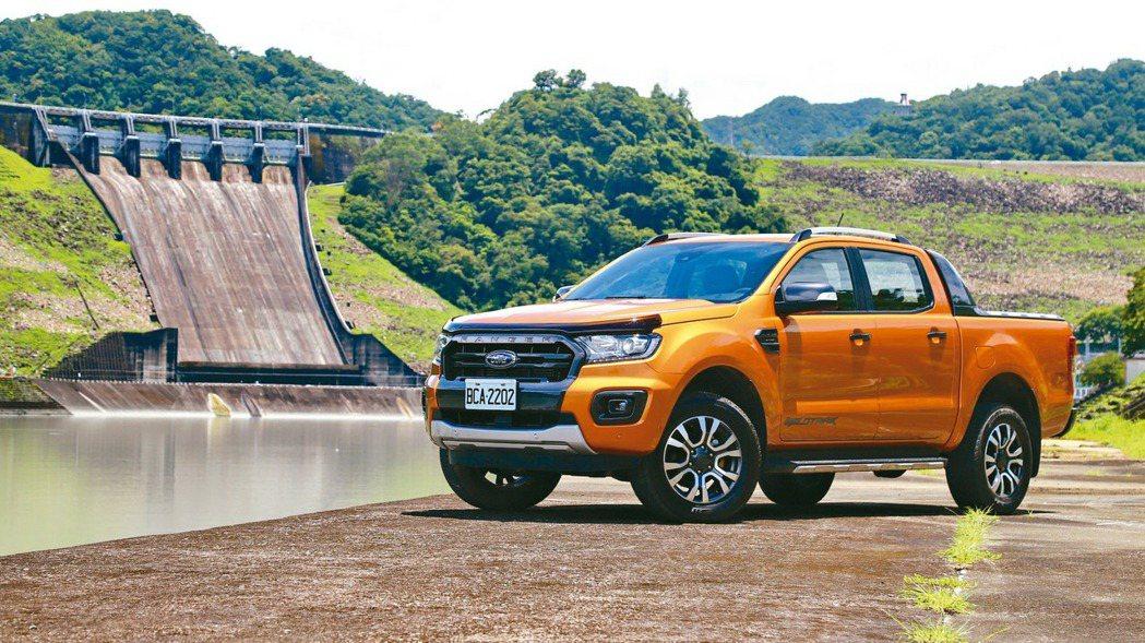 連續5年台灣市場運動皮卡級距銷售冠軍的Ford Ranger,補上先進主動安全科...