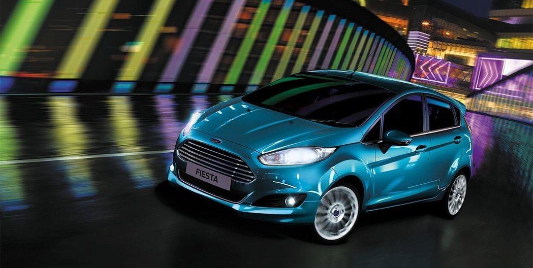 Ford Fiesta。 圖/Ford提供