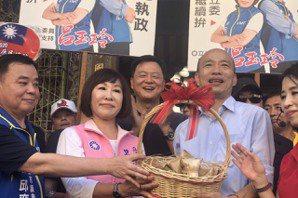 韓國瑜:政治人物兩種選擇 造福造孽一念之間