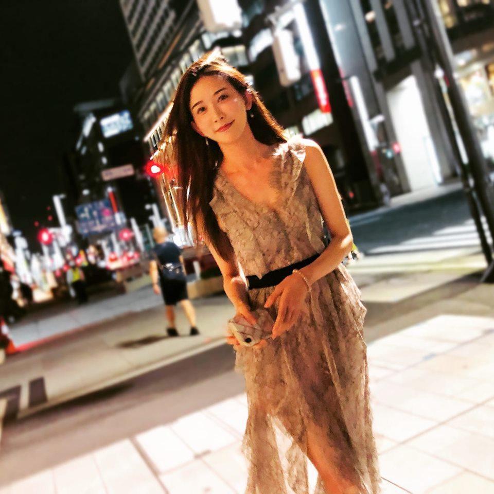 林志玲與日本男星AKIRA閃婚後相當幸福。圖/摘自臉書