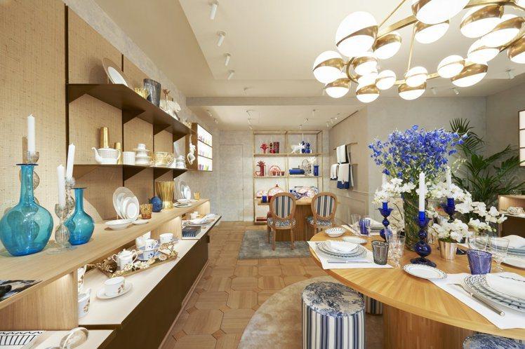 全球首間DIOR Maison家飾系列專賣店日前開幕。圖/DIOR提供
