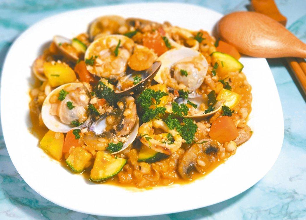 鮮瓜海鮮燉飯