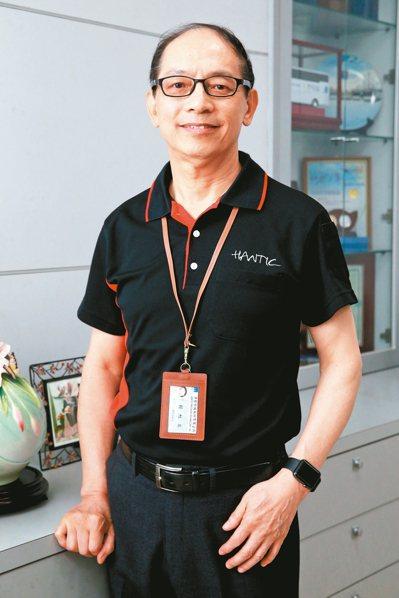 漢台科技董事長 賴旭泉。