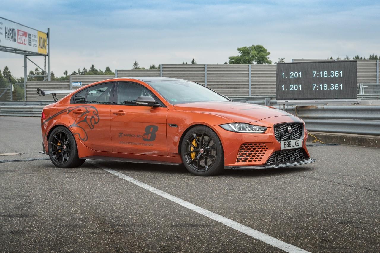 影/Jaguar XE SV Project 8破紀錄全都錄 紐柏林最速四門房車來也!