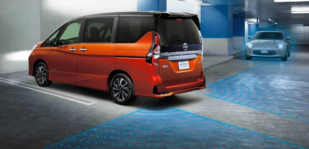 包括BSI +BSW盲點偵測警示、RCTA 後方交通警示系統。 摘自Nissan