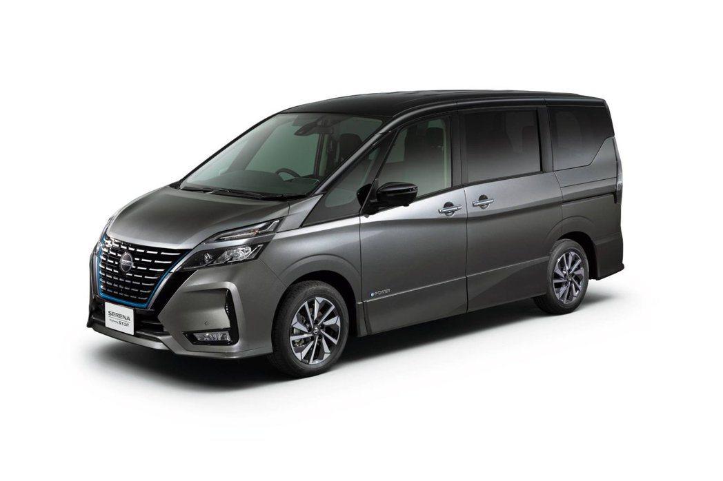 小改Nissan Serena新車色「深金屬灰」。 摘自Nissan