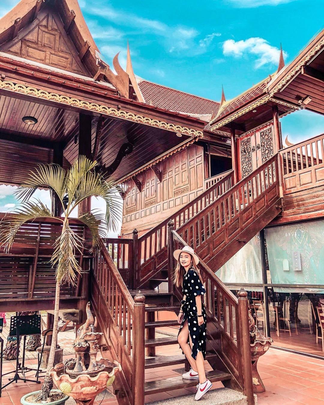 圖/不用出國屏東就有曼谷情調「泰國高腳屋」異國度假感滿分。網友__lmr58__...