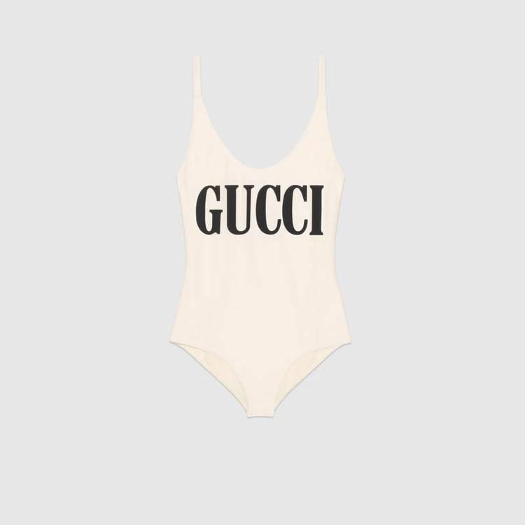 Gucci連身泳裝。圖/摘自官網