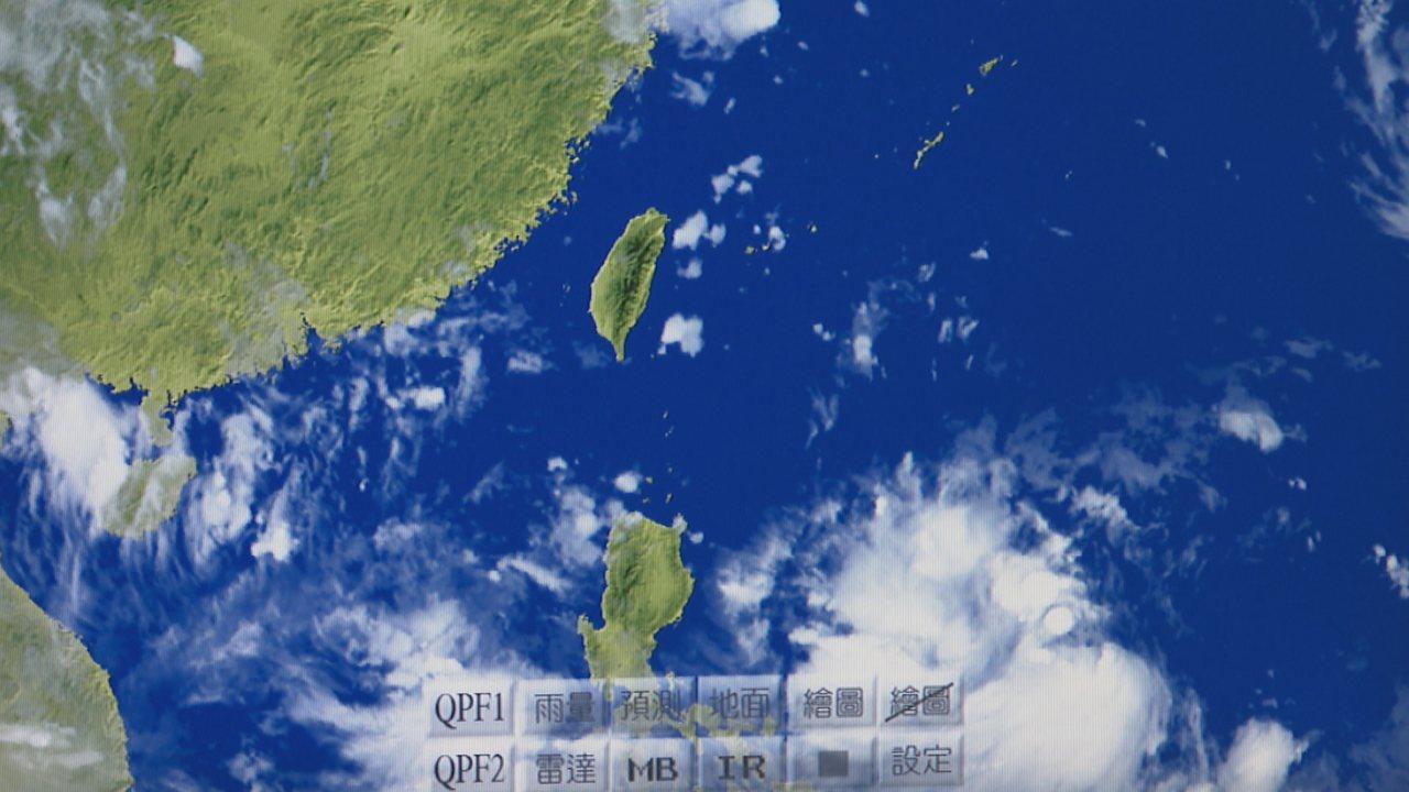 九號颱風「利奇馬」已於4日下午2時生成。記者黃純益/攝影