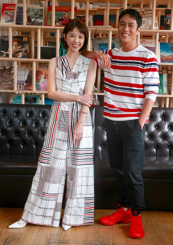 邵雨薇和莊凱勛主演「緝魔」8月16日上映。記者黃義書/攝影