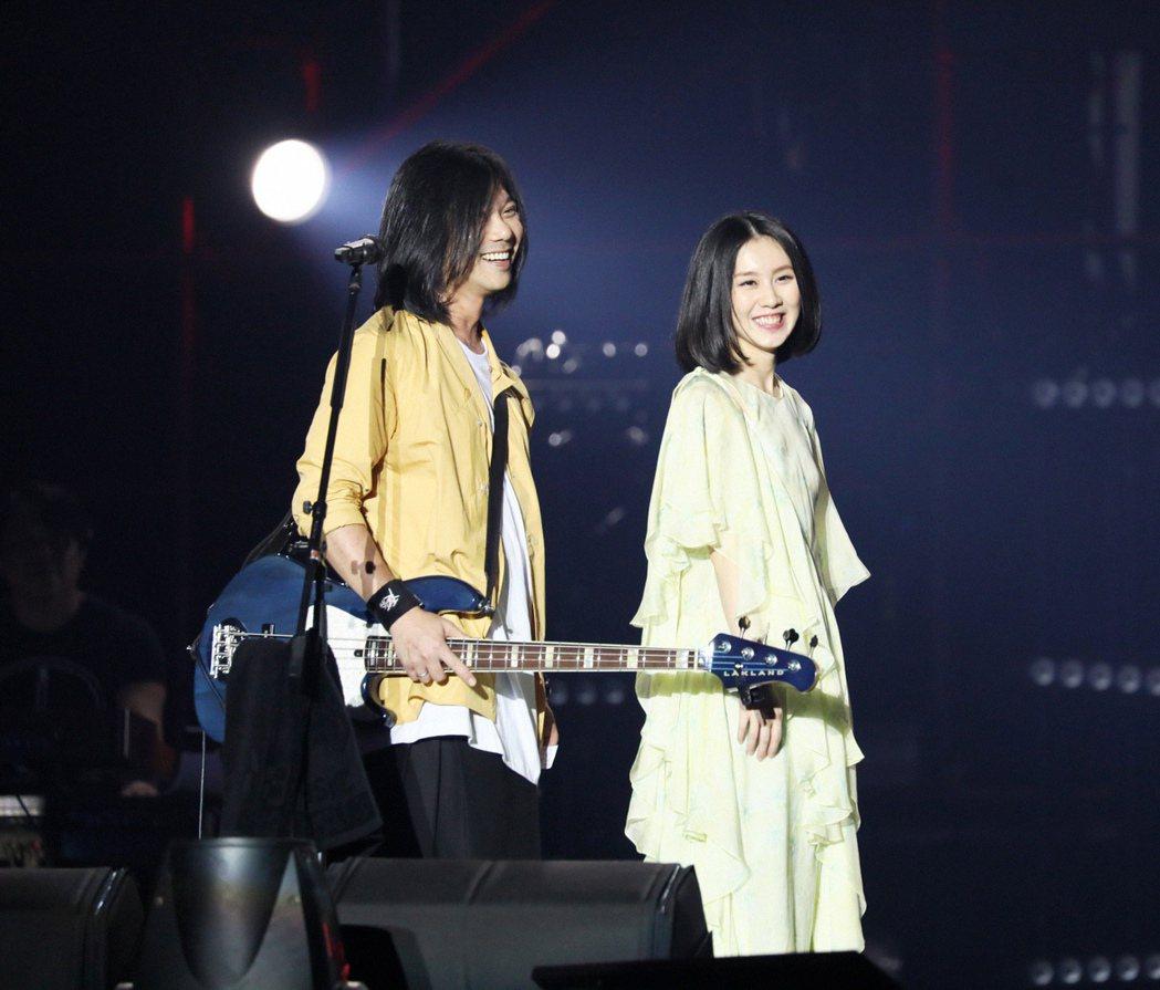 瑪莎(左)、白安的髮型如出一轍。圖/相信提供