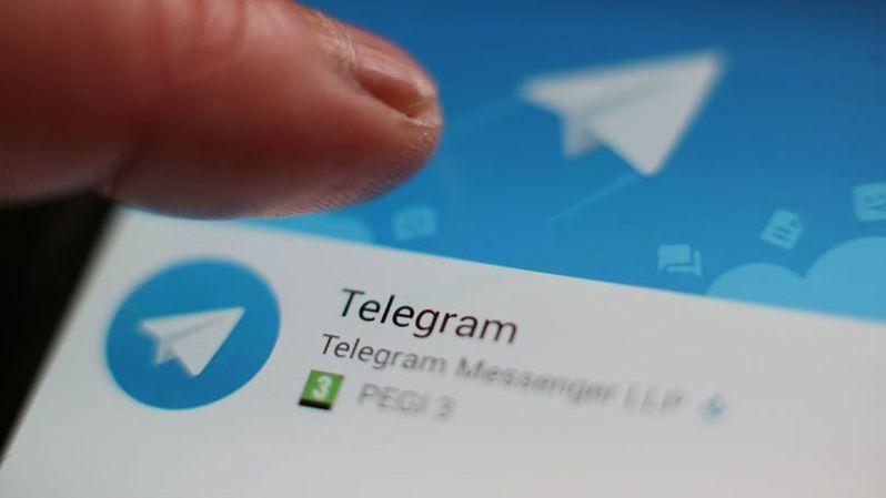 加密通訊軟體Telegram。圖/取自網路