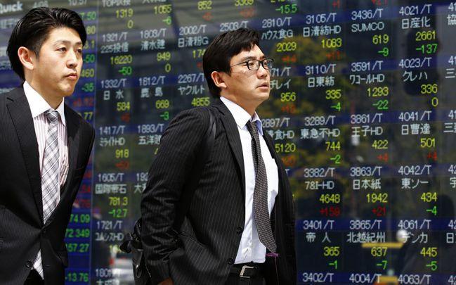 負殖利率促使日本投資資金流向海外。圖/美聯社