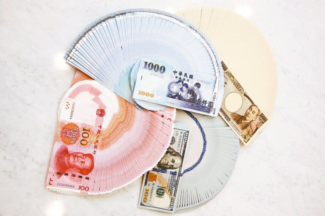 今天日圓換匯價格一度來到新台幣0.302元兌1日圓。 記者曾原信/攝影