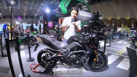 影/正式登台!KYMCO K-Rider 400