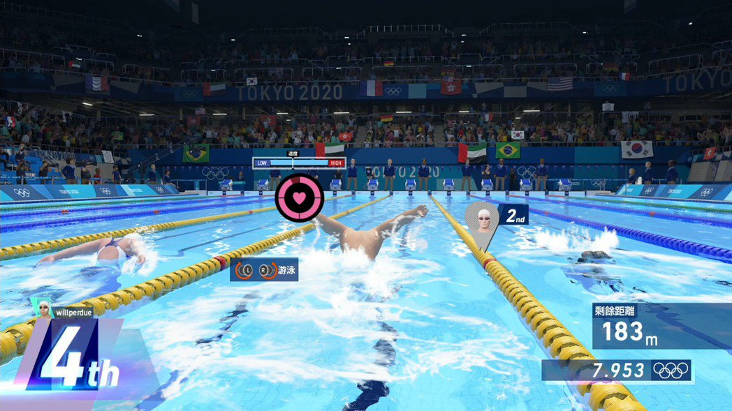 200 公尺混合式必須要多游仰式和蝶式兩種游法,此外還必須注意不可游得過快,不然...