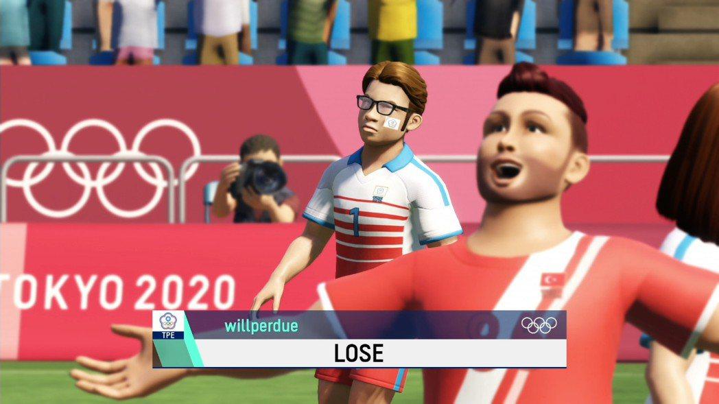 足球真的不太容易玩,小虎連預賽都通不過,只能落寞下場,哈哈~