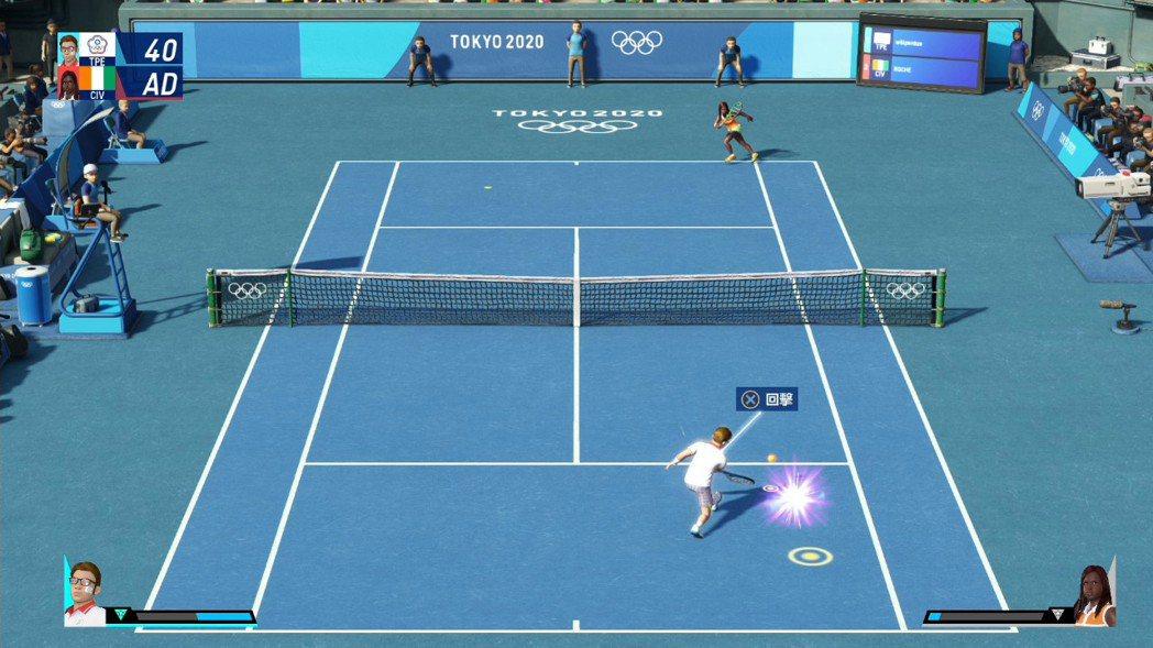 網球是需要相當專注力的運動,盯緊球並且預測對手的回擊路線並反擊,才有機會獲勝。
