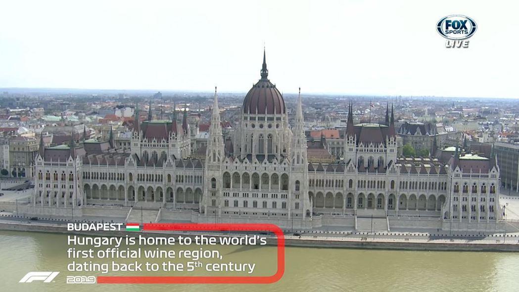 匈牙利大獎賽於首都布達佩斯舉辦。 摘自FOX+