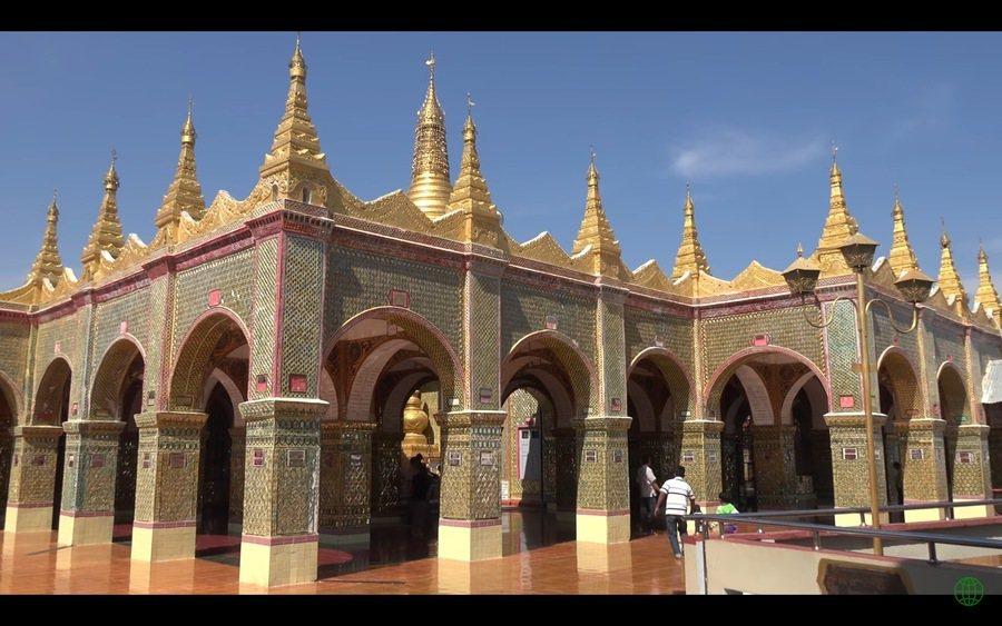古城曼德勒號稱「華城」,有很多歷史遺跡。(Photo by 網路截圖)