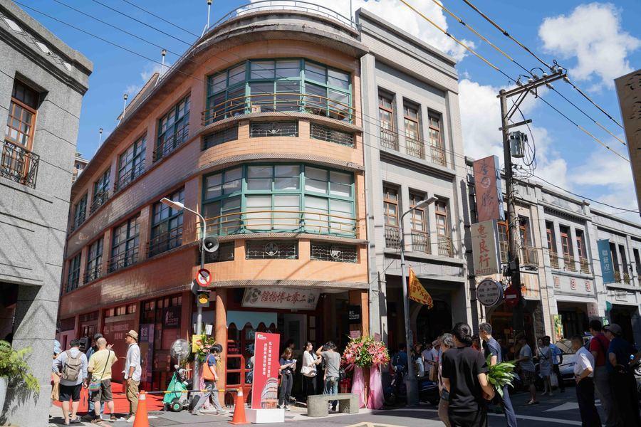 位於迪化街一段207號的迪化207博物館。(photo by張元融/台灣醒報)