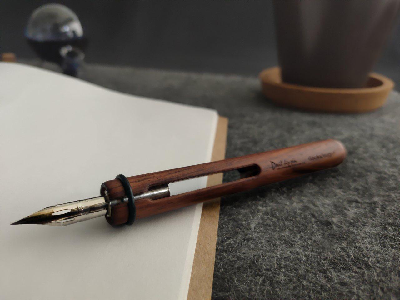 以和諧之筆、默契墨水瓶紀錄每個靈光乍現時刻 圖/聯合數位文創