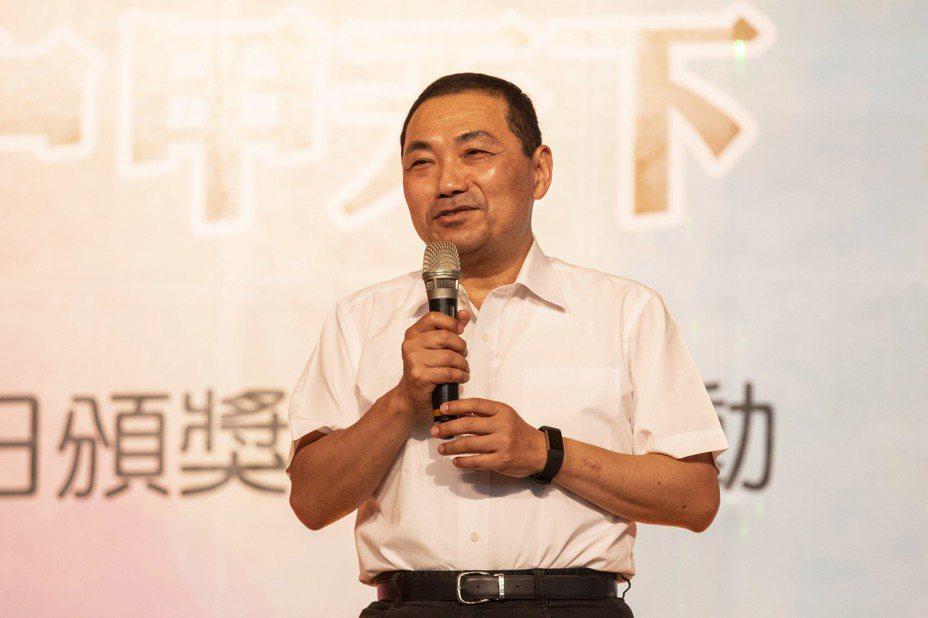 今天是「台灣民眾黨」的創黨大會,但新北市長侯友宜因忙市政建設而未出席活動。記者王敏旭/攝影