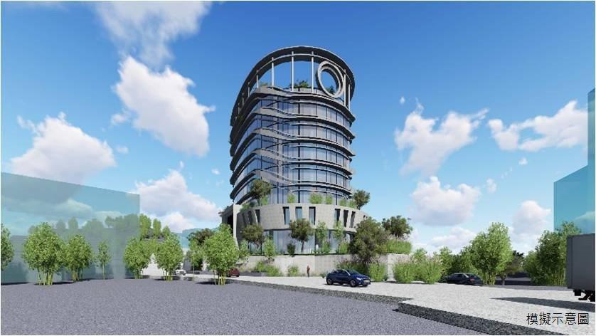 新店區寶興段產業園區土地開發招商案今天簽約,將興建地下3層、地上8層建築,並設立...