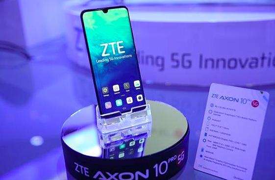 大陸首款5G手機5日開賣!由中興手機先馳得點,推出中興天機Axon 10 Pro 5G版。照片/中興官網
