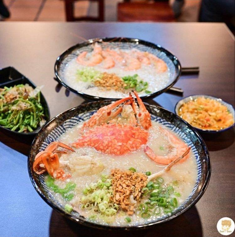 宵夜來碗豐富的海鮮粥完全療癒。IG @denden_diary 提供FB:D...