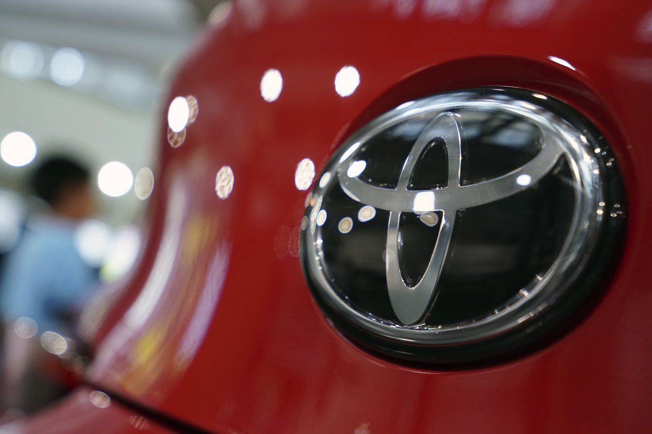 豐田汽車。美聯社