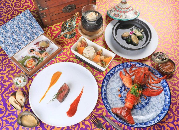 高僅5公分的小廚師重現江湖,這次踏上馬可波羅的冒險路線,尋找新菜色靈感。圖/台南...