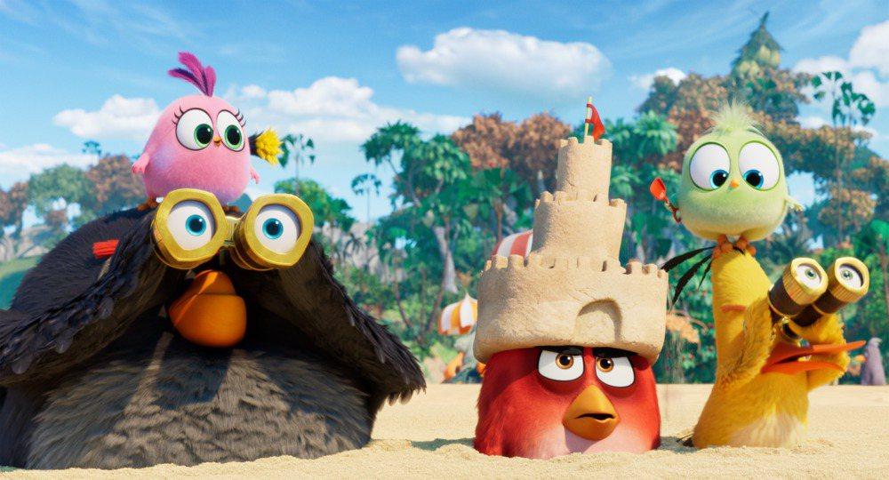 「憤怒鳥玩電影;冰的啦」劇照。圖/索尼提供